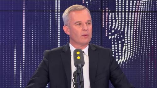 """VIDEO. Révélations Médiapart : François de Rugy affirme avoir """"bien identifié une vengeance politique de [son] ancien parti """""""