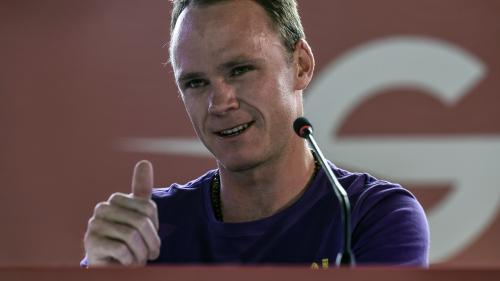 """Cyclisme : Froome stoppe sa saison après un """"stupide"""" accident domestique"""