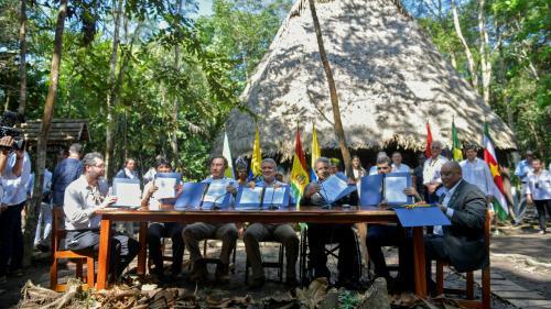 Amazonie : sept pays de la région signent un pacte de protection de la forêt