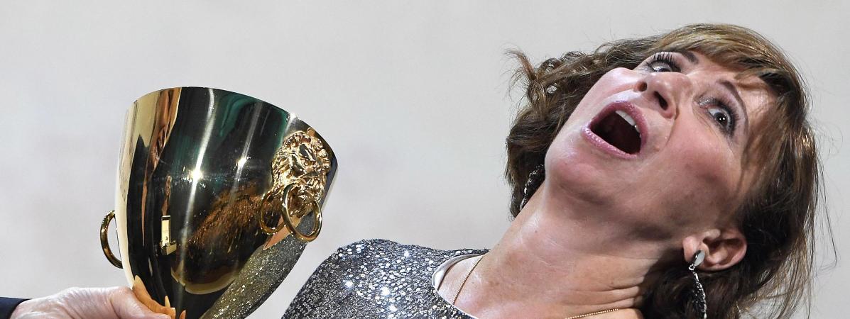 Mostra De Venise Je Ne M Attendais Pas A Avoir Ce Prix Reagit L Actrice Francaise Ariane Ascaride