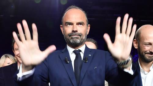 """Municipales : Edouard Philippe estime que se présenter à Paris n'aurait """"aucun sens"""""""