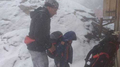 Un Russe et son fils de 10 ans stoppés alors qu'ils voulaient gravir le mont Blanc sous la neige