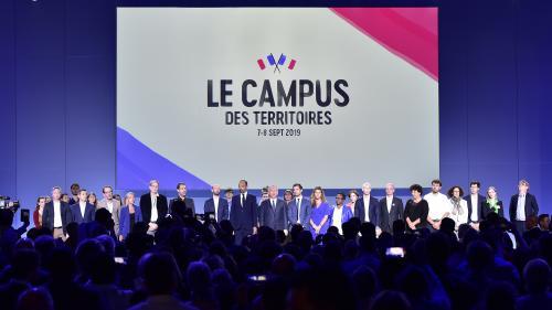 """Gobelets """"bio-sourcés et compostables"""", chef Raoni, show d'Edouard Philippe... Six choses vues et entendues lors de la rentrée de La République en marche"""