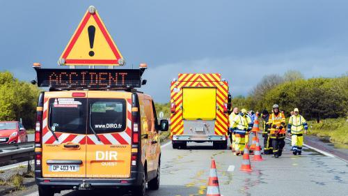 Drôme : l'autoroute A7 coupée après deux accidents faisant au moins un mort et trois blessés