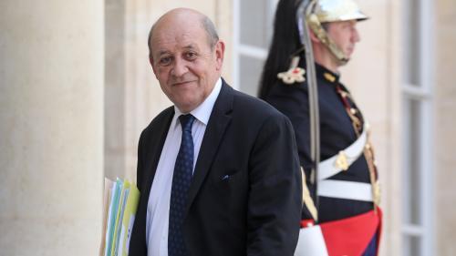 """""""Dans l'état actuel des choses, c'est non !"""" : le ministre des Affaires étrangères, Jean-Yves Le Drian, hostile à un report du Brexit"""