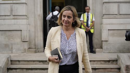Brexit : la ministre du Travail, Amber Rudd, claque la porte d'un gouvernement britannique en pleine crise