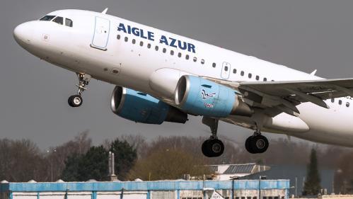 """Aigle Azur : plusieurs repreneurs sont """"intéressés"""", assure le secrétaire d'Etat aux Transports"""