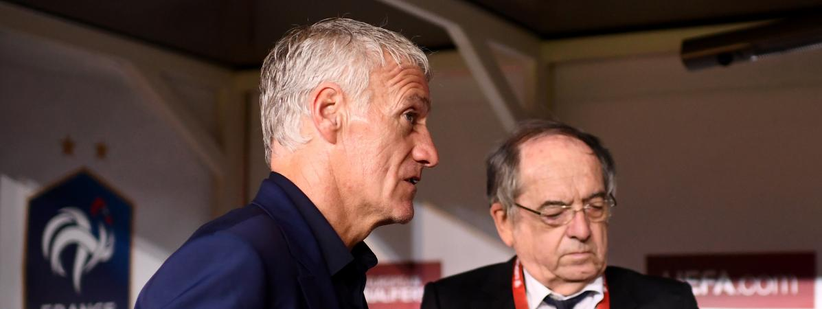 """Homophobie dans les stades : Didier Deschamps soutient Noël Le Graët, """"qui a toujours lutté contre les disc..."""