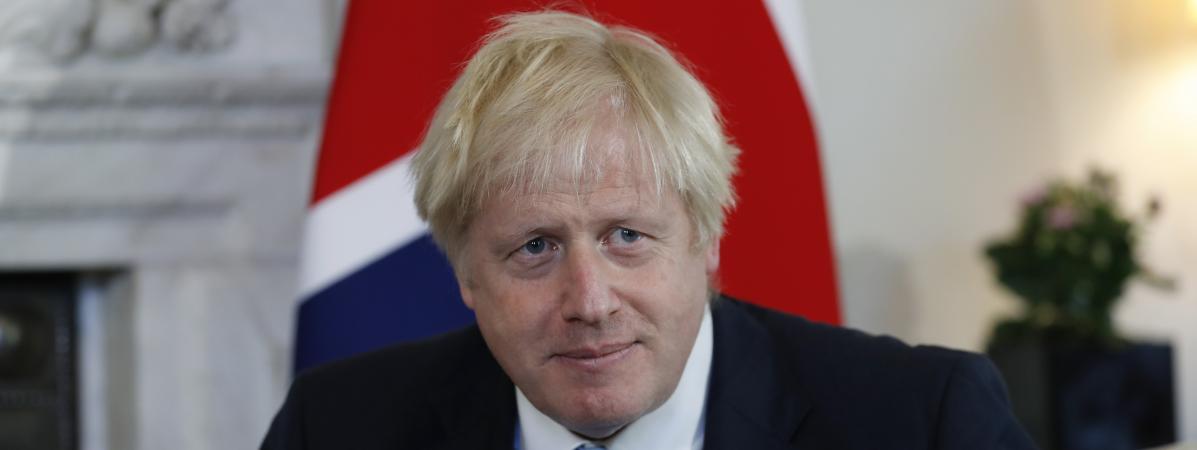 LePremier ministre britannique Boris Johnson au 10 Downing Street, à Londres, le 5 septembre 2019.