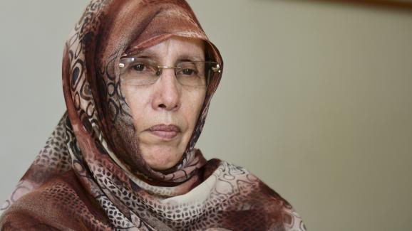Aminetou Mint Moctar est présidente de l\'Association des Femmes Chefs de Familles. C\'est l\'une des ONG qui dénoncen les méfaits du gavage depuis plusieurs années en Mauritanie.
