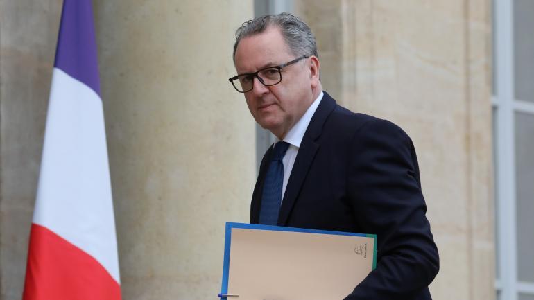 Richard Ferrand, avant une réunion avec Emmanuel Macron à l\'Elysée, le 10 décembre 2018.