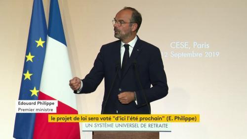 VIDEO. Retrouvez l'intégralité du discours d'Edouard Philippe présentant le calendrier et la méthode de la future réforme des retraites