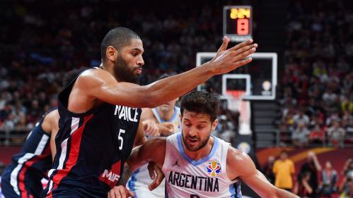 Coupe du monde de basket : pas de finale pour la France, étouffée par l'Argentine (80-66)