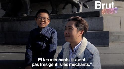 """VIDEO. """"Ils sont pas très gentils les méchants"""" : retrouvailles avec celui qui avait ému la France entière après le 13-novembre"""