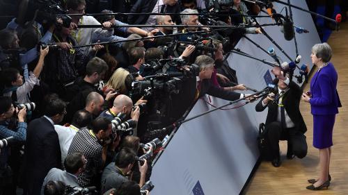 """""""Impossible de prédire ce qui va se passer"""" : les journalistes face au casse-tête du Brexit"""