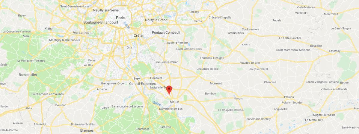Seine-et-Marne : plusieurs malfaiteurs recherchés après avoir foncé délibérément avec leur 4×4 sur des poli...