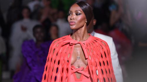 Naomi Campbell revient à Londres pour un défilé caritatif en marge de la Fashion Week