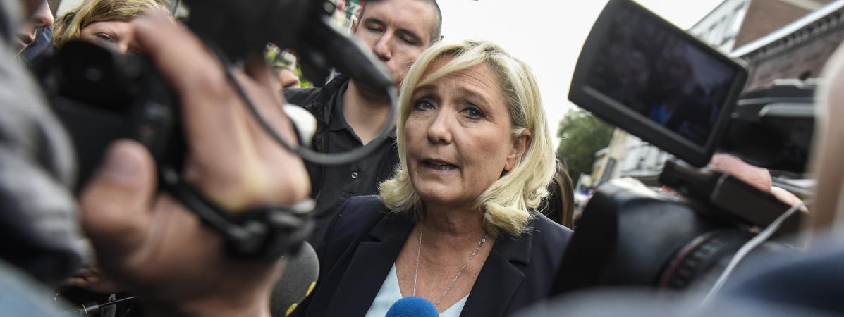 RN : Marine Le Pen fait sa rentrée politique dans le Var