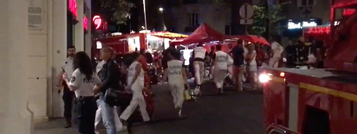 #INCENDIE Gros incendie dans le 16eme à Paris ?