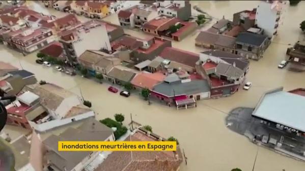 VIDEO. Inondations meurtrières en Espagne