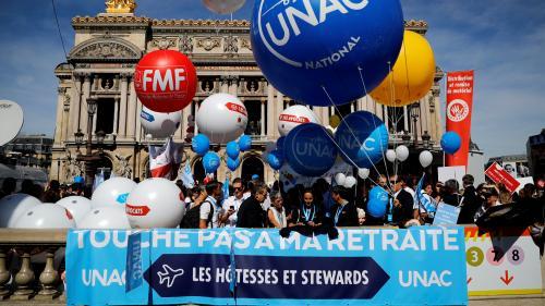 DIRECT. Réforme des retraites : le cortège parisien des professions libérales a quitté la place de l'Opéra