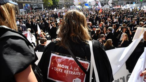 DIRECT. Paris, Toulouse, Bordeaux, Lille... Les professions libérales sont dans la rue pour dire non à la réforme des retraites