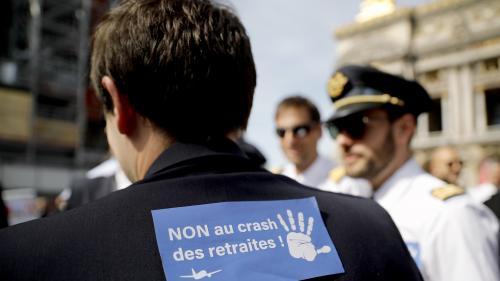 """Réforme des retraites : """"On veut garder notre caisse complémentaire"""", explique le syndicat des pilotes de ligne"""