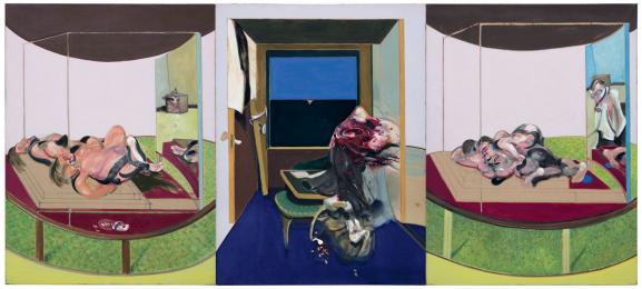 """Triptych inspired by T.S Eliot\'s poem, \""""Sweeney Agoniste\"""", 1967,Hirshhorn Museum and Sculpture Garden - Smithsonian Institution, Washington"""