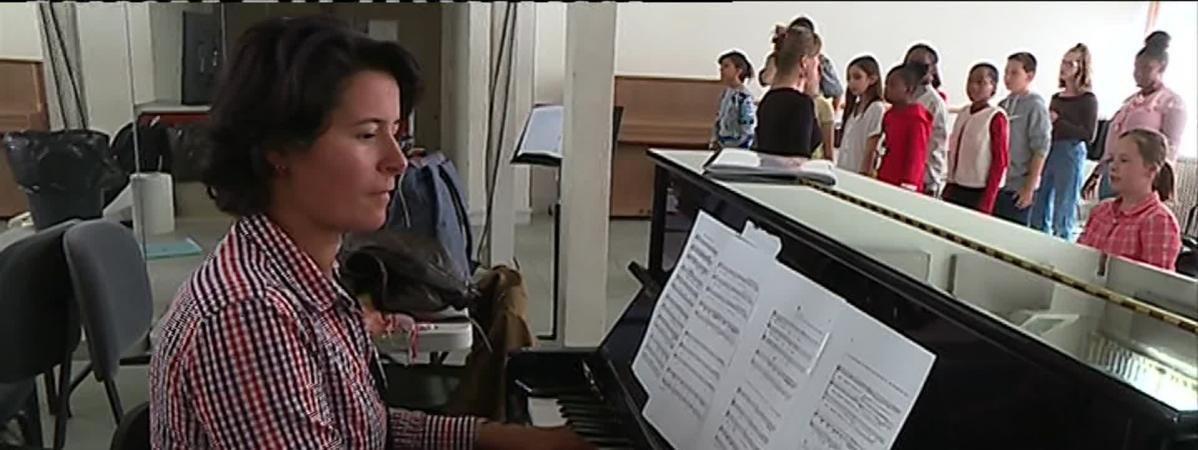 Le rêve d'Anne-Louise Bourion, candidate du 56e Concours des jeunes chefs d'orchestre de Besançon