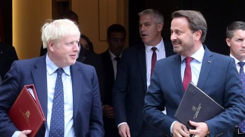 """Brexit : """"L'heure tourne, arrêtez de parler, agissez !"""" lance le Premier ministre luxembourgeois à Boris Johnson"""