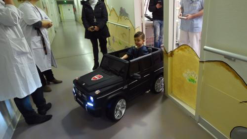 Des voitures électriques pour enfants malades volées dans une clinique du Mans