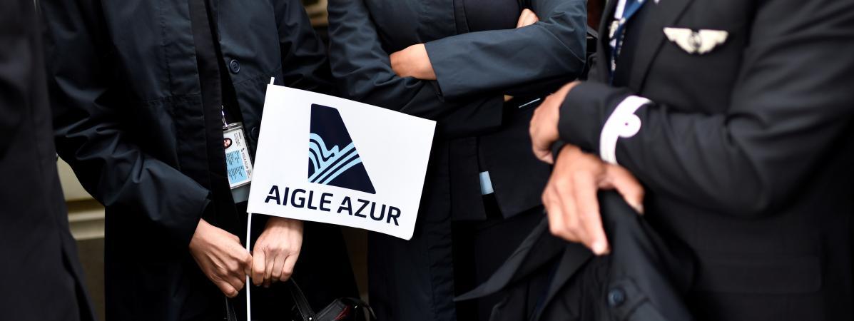 """Aigle Azur : l'offre de reprise commune d'Air France et du groupe Dubreuil est """"une lueur d'espoir"""" pour la..."""