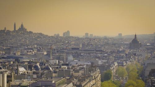 Paris : une carte interactive permet désormais de connaître le niveau de pollution de l'air heure par heure