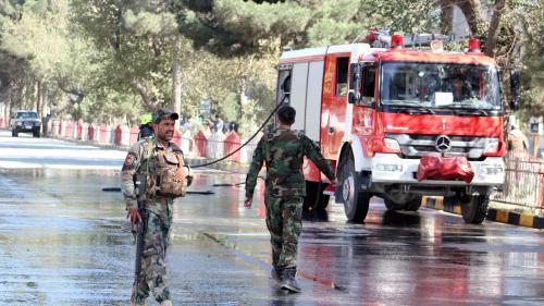 Afghanistan : un double attentat revendiqué par les talibans fait au moins 48 morts