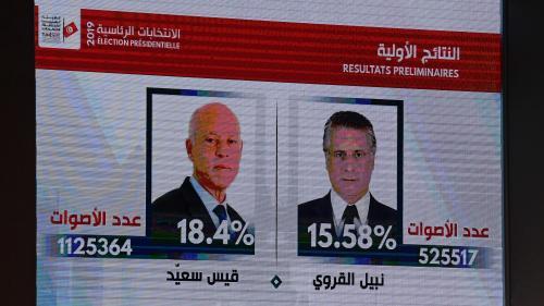 Présidentielle en Tunisie : le second tour opposera Kais Saïed et Nabil Karoui