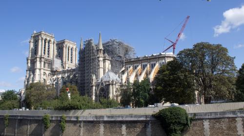 Journées du patrimoine : des objets et des archives de Notre-Dame de Paris à découvrir au ministère de la Culture