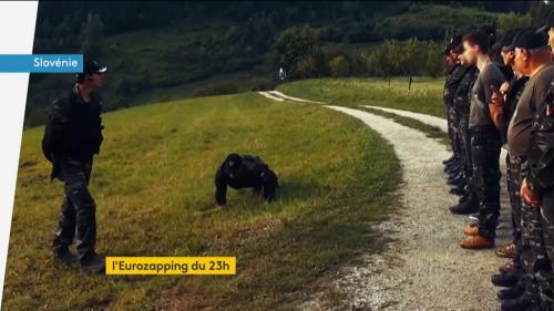 Eurozapping : des milices anti-migrants en Slovénie ; des enfants éboueurs au Danemark