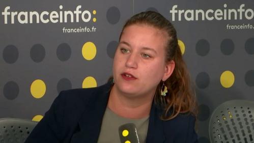 """VIDEO. Procès Mélenchon: """"Toute opposition est criminalisée"""", s'insurge la député LFI Mathilde Panot"""