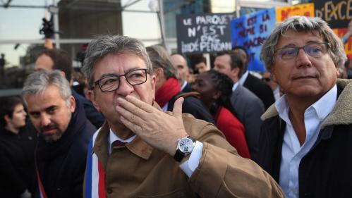 """""""Arrêtez de me chatouiller !"""" : le show Mélenchon au procès des """"insoumis"""" pour la perquisition mouvementée chez LFI"""