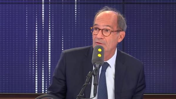 """VIDEO. Débat sur l'immigration : """"Il est assez naturel que Marine Le Pen s'exprime à l'Assemblée nationale"""", affirmeEricWoerth"""