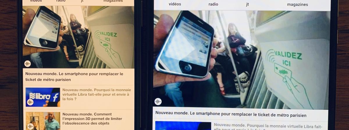 Nouveau monde. Apple et Samsung lancent simultanément leurs nouveaux smartphones haut de gamme