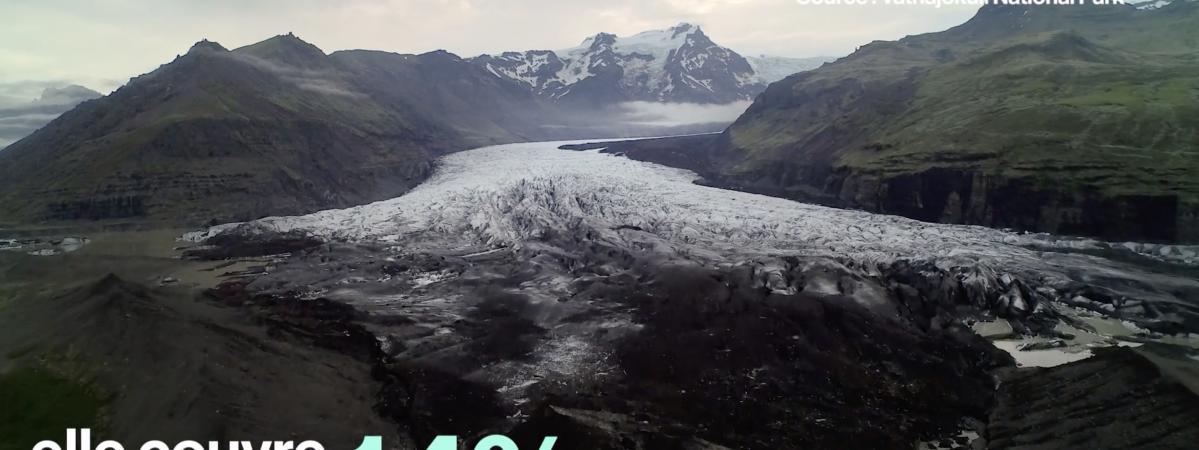 VIDEO. En Islande, feu et glace cohabitent dans le parc national du Vatnajökull