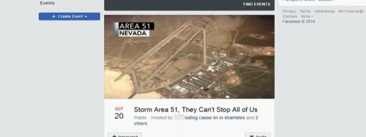 Invasion de la zone 51 : les réseaux sociaux annonçaient deux millions de personnes... ils ne sont finaleme...