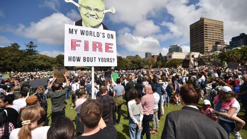 La grève de l'école pour le climat très suivie en Australie