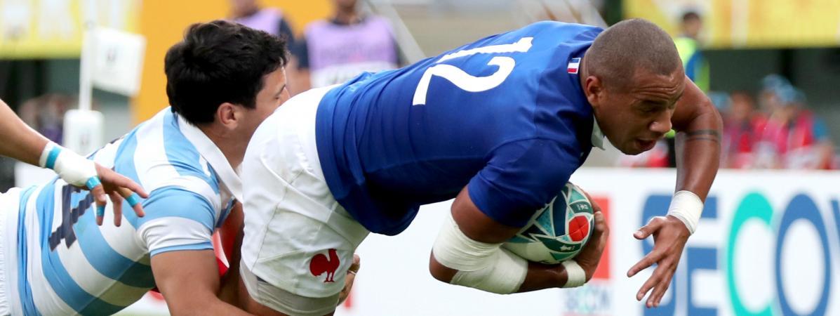 Coupe du monde de rugby : ce qu'il faut retenir de la victoire in extremis du XV de France face à l'Argenti...
