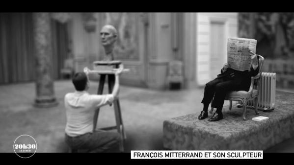 VIDEO. Comment le président François Mitterrand n'a jamais vraiment accepté le regard du sculpteur qui réalisait son buste