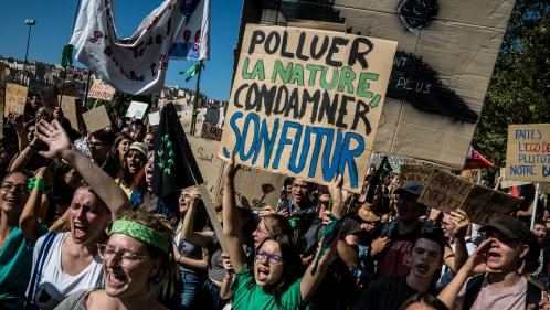 Marche pour le climat à Paris : Greenpeace et Youth For Climate appellent à quitter la manifestation parisienne à cause des violences