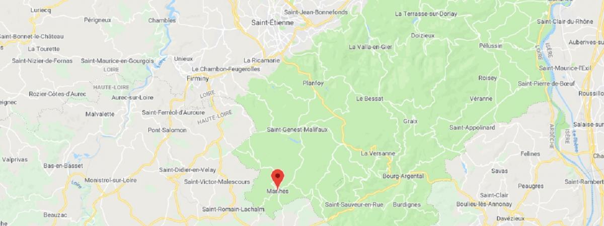 Loire : un homme retranché à Marlhes menace de faire sauter une salle des fêtes, 300 personnes ont été évac...