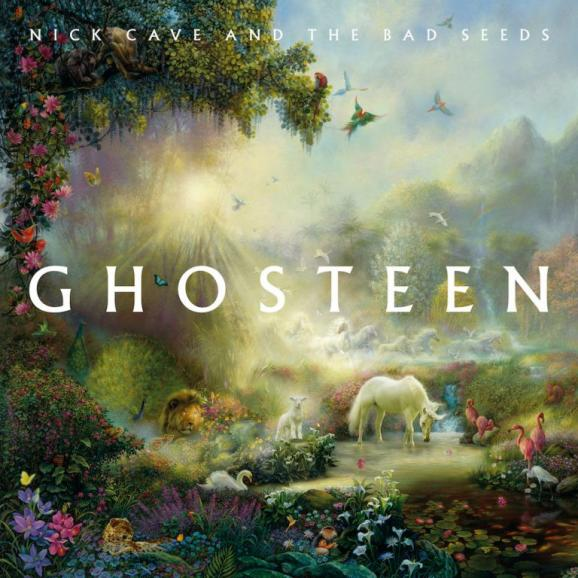 "La pochette du double album ""Ghosteen\"" de Nick Cave & The Bad Seeds."