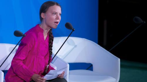 """VIDEO. """"Vous avez volé mes rêves et mon enfance !"""": le discours choc de Greta Thunberg à l'ouverture du sommet de l'ONU pour le climat"""